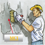 عایق رطوبتی MCI هم با قلمو و هم با غلطک رنگرزی قابل اجرا میباشد.